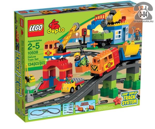 Конструктор Лего (Lego) Duplo 10508 Большой поезд, количество элементов: 134