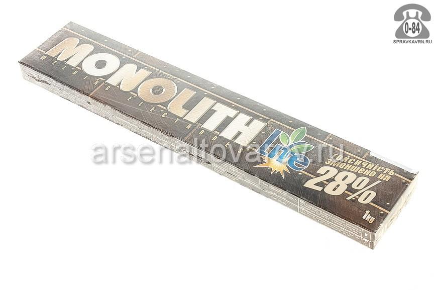 Монолит АНО-36 (диаметр 2 мм) коробка 1 кг электроды для сварки (Беларусь)