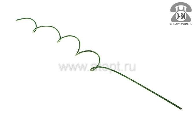 Опора для садовых вьющихся растений металлическая спираль 1300 мм 5 мм Россия