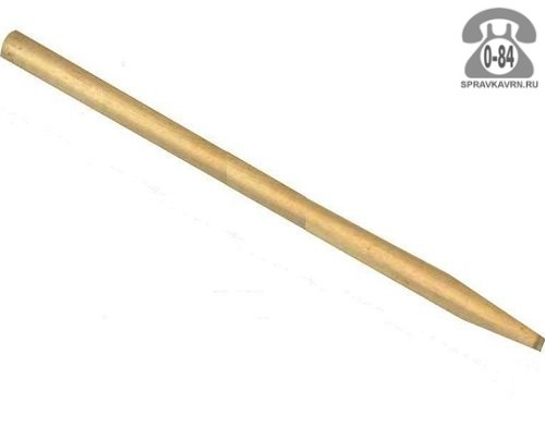 Черенок деревянный для грабель 1500 мм 30 мм первый шлифованная Россия