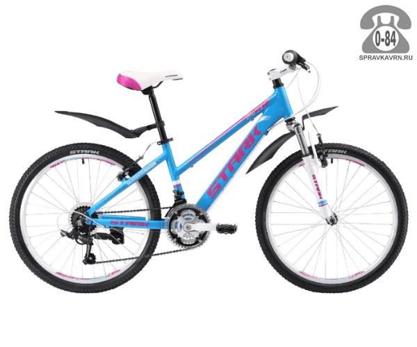 Велосипед Старк (Stark) Bliss 24.1 V (2017), синий