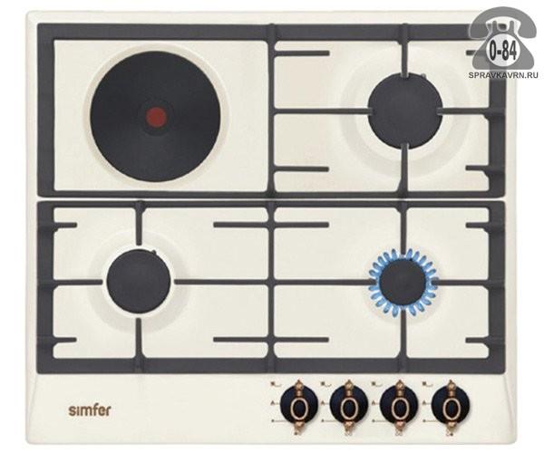 Варочная панель Симфер (Simfer) H60V31O501 эмаль электроподжиг