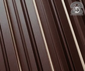 Профнастил С8 коричнево-красный  1200x0.5 мм полиэстер