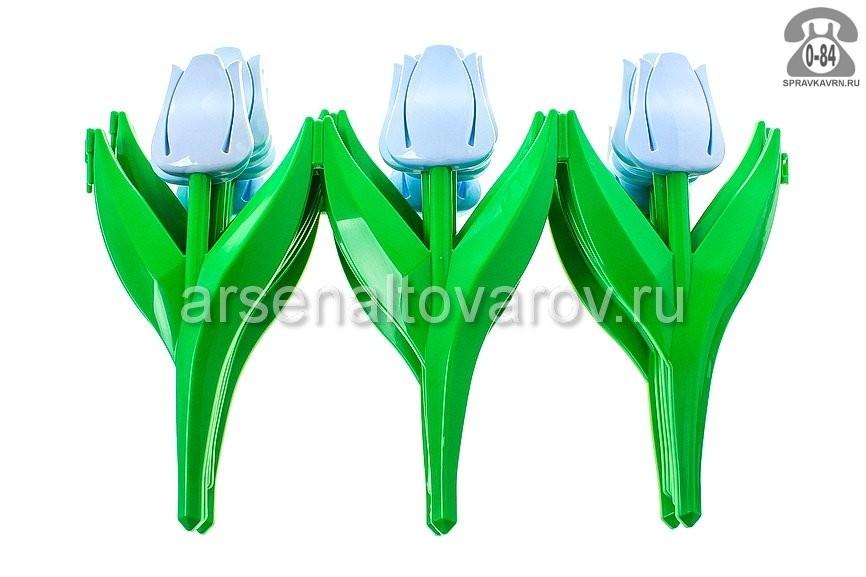 Бордюр садовый Альтернатива Цветы 45x30см мультиколор
