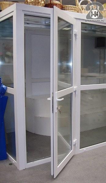Дверь межкомнатная пластиковая Рехау (Rehau) распашная изготовление на заказ