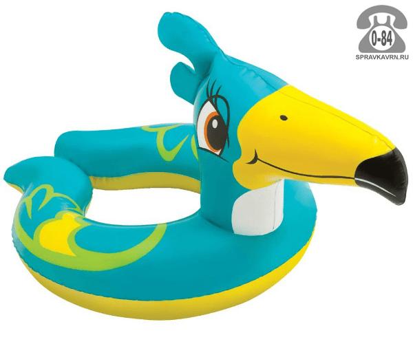 Круг надувной для плавания Интекс (Intex) Любимые животные. Тукан, 59220
