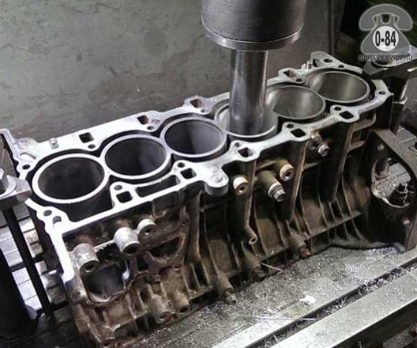 Блок цилиндров двигателя гильзовка грузовой без выезда к заказчику ремонт