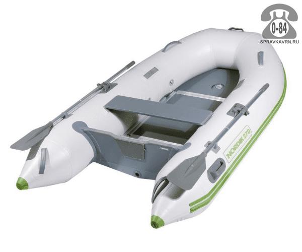 Лодка надувная Нордик (Nordik) 270, серая