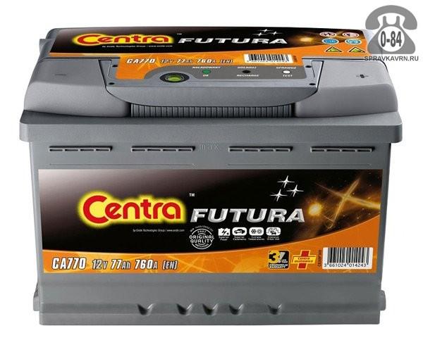 Аккумулятор для транспортного средства Центра (Centra) 12 В легковой Польша