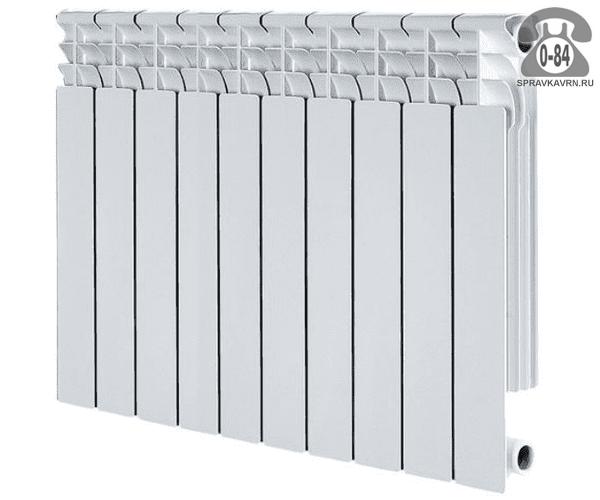 Радиатор отопления алюминиевый Аквапром (Aquaprom) 500/96 800x567 мм