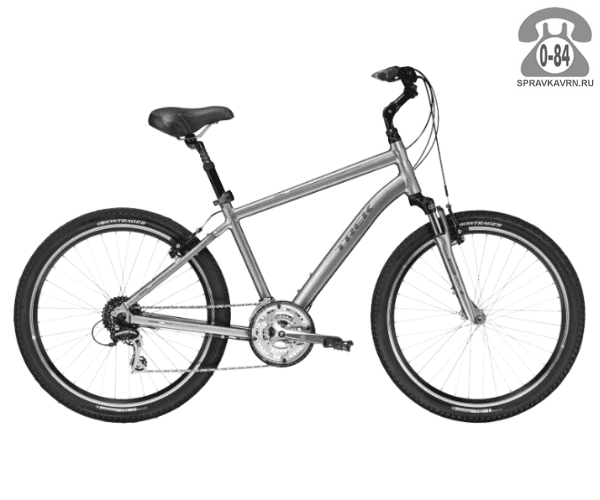 """Велосипед Трек (Trek) Shift 3 (2016), рама 19"""", серый размер рамы 19"""" серый"""