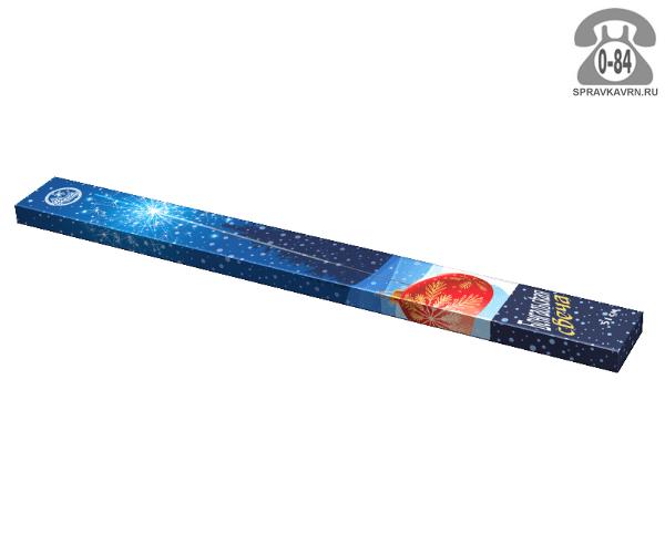 Свеча бенгальская НИИПХ 51 см 130 с 4 шт. 100 г Россия