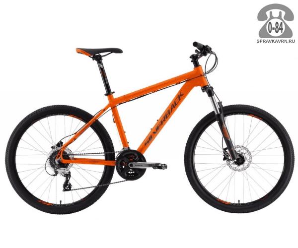 "Велосипед Сильвербэк (Silverback) STRIDE 15 (2016), рама 18.5"", оранжевый размер рамы 18.5"" оранжевый"