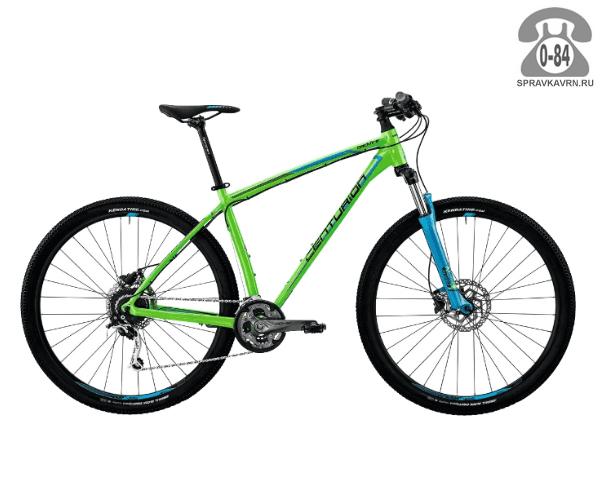 "Велосипед Центурион (Centurion) Backfire Pro 200.27 (2017) размер рамы 17.5"" зеленый"