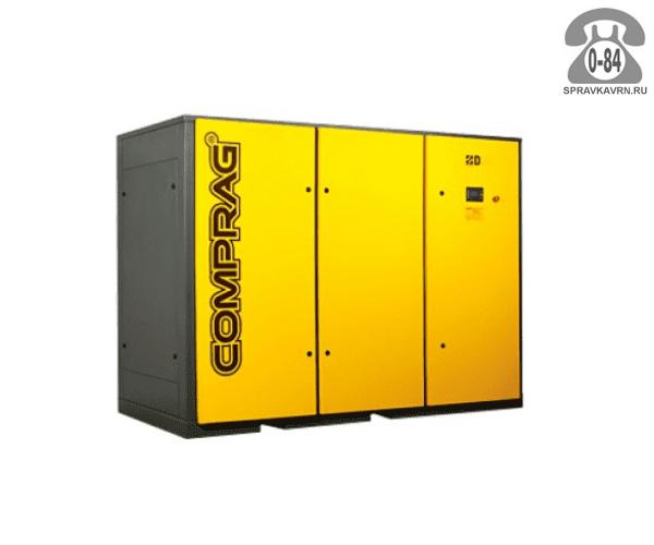 Компрессор Компраг (Comprag) D-110 110 кВт 10 бар 16400 л/мин 2850*1300*2243