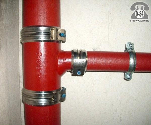 Канализационная система внутренняя чугунные установка (монтаж)