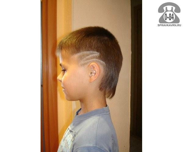 Стрижки для мальчиков с выбритыми