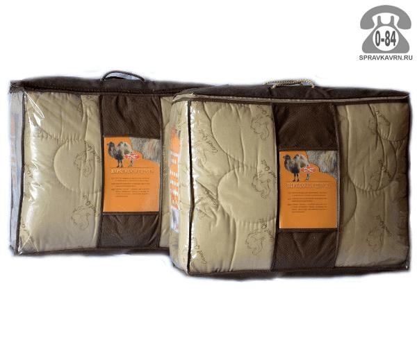 Одеяло верблюжья шерсть 2-спальное