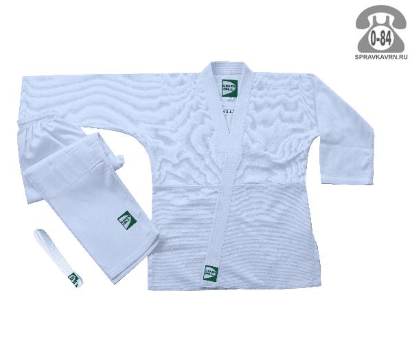 Кимоно спортивное Грин Хилл (Green Hill) MA-302 белый 180