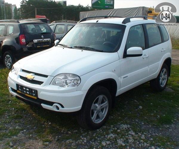 Автомобиль легковой Шевроле (Chevrolet) иномарка новый (без пробега)