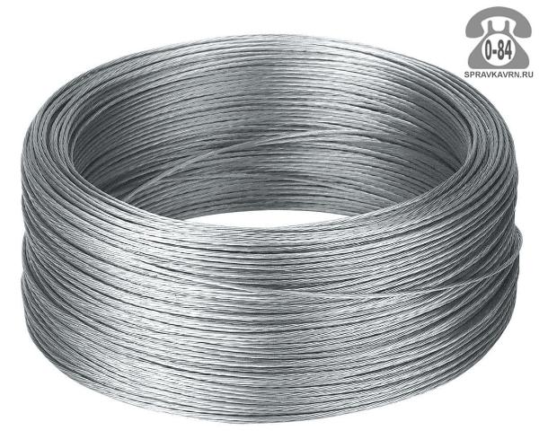Трос сталь нержавеющая 1 мм