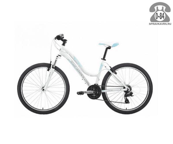 "Велосипед Сильвербэк (Silverback) SPLASH 26 (2016), рама 18.5"" размер рамы 18.5"" белый"