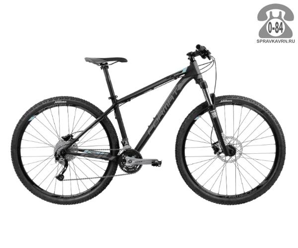 """Велосипед Формат (Format) 1214 29 (2017) размер рамы 19.5"""" черный"""