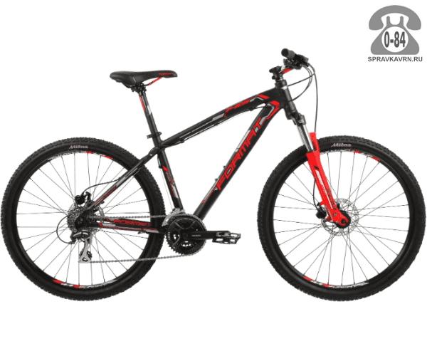 """Велосипед Формат (Format) 1413 27.5 (2017) размер рамы 15.5"""" черный"""