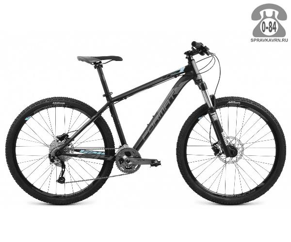 """Велосипед Формат (Format) 1214 27.5 (2017) размер рамы 19.5"""" черный"""