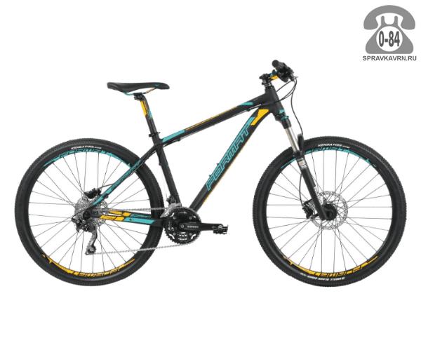 """Велосипед Формат (Format) 1213 27,5 (2017) размер рамы 19.5"""" черный"""