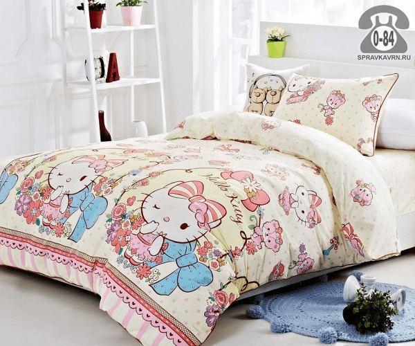 Детское постельное белье Kitty сатин