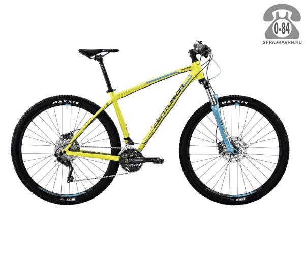 """Велосипед Центурион (Centurion) Backfire Pro 400.27 (2017) размер рамы 17.5"""" желтый"""