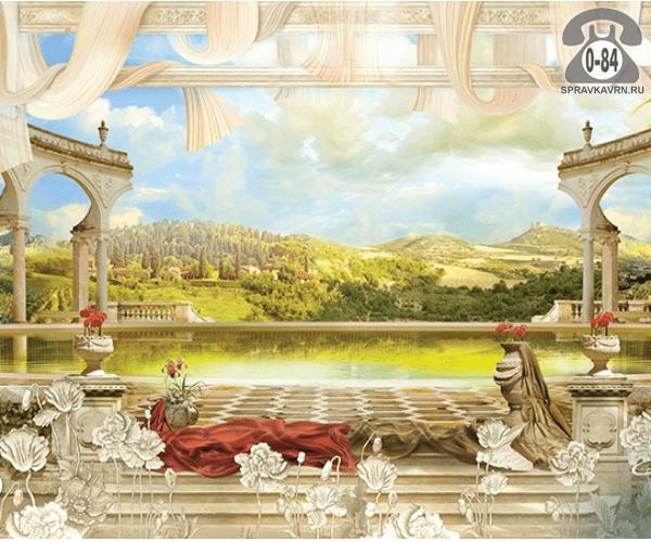 Наклейка-панно декоративное на стекло НОВЫЙ ГОД гелевая 1 шт. в пакете 20х25 см