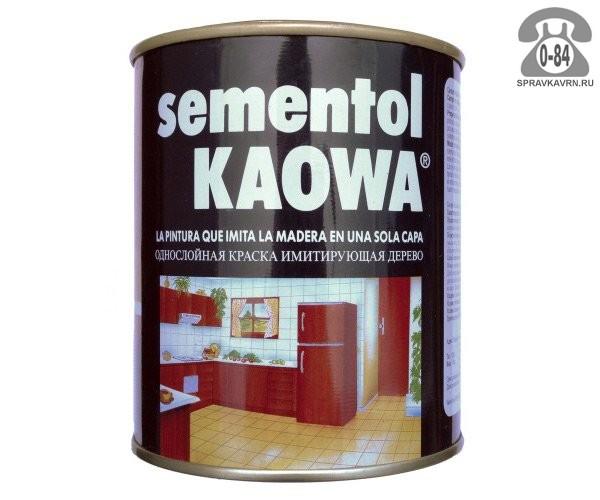 Краска, эмаль Каова Сементол (Kaowa Sementol) Жидкое дерево для мебели