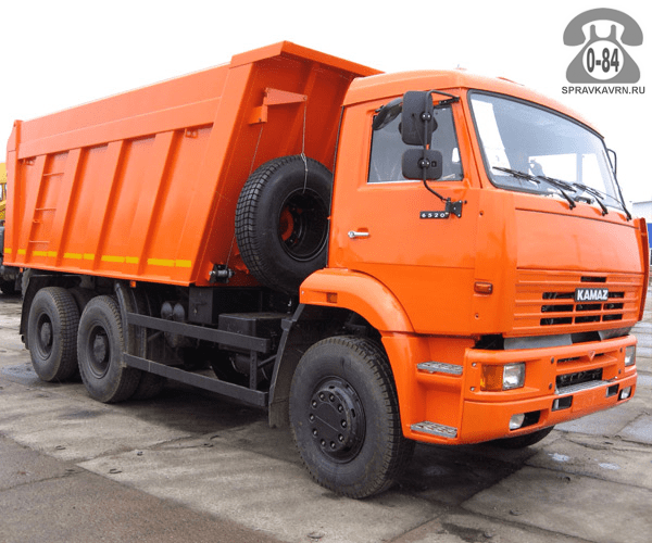Грузоперевозка. Автомобиль грузовой с водителем КАМАЗ (KAMAZ) КамАз-65115С аренда