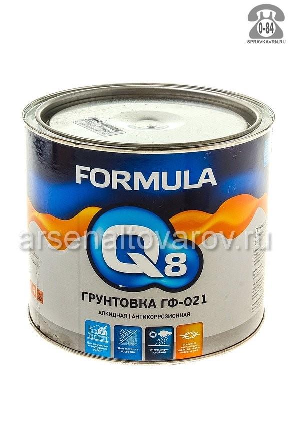 Грунтовка Формула Q8 красно-коричневая 1.9 кг