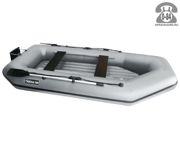 Лодка надувная Hunterboat Хантер 300 ЛТН, серый 300051