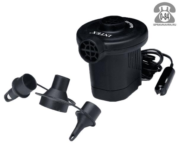 Насос для надувных изделий Интекс (Intex) электрический, 12V 66626