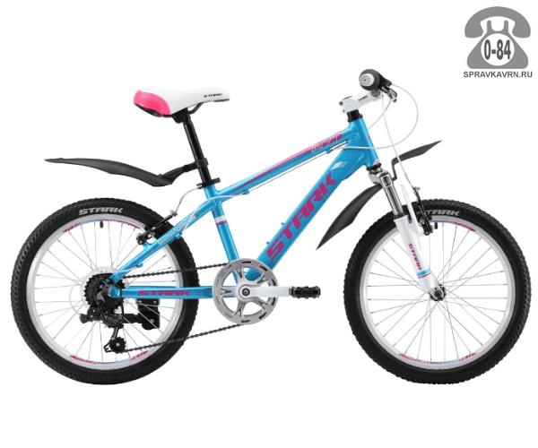Велосипед Старк (Stark) Bliss 20.1 V (2017), синий