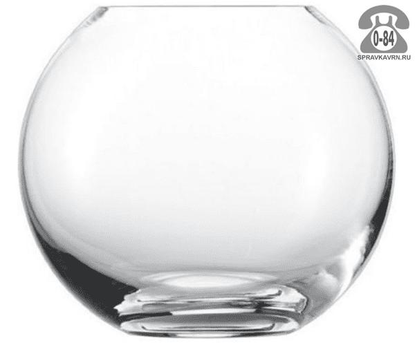 Аквариум круглый (шар) 13 л стекло плоское дно Россия