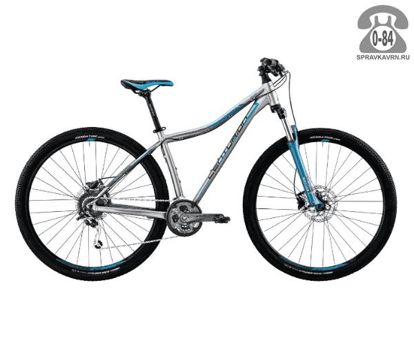 "Велосипед Центурион (Centurion) EVE Pro 200.27 (2017) размер рамы 15.5"" серый"