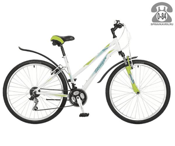 "Велосипед Стингер (Stinger) Element Lady 26 (2017), рама 17.5"", белый размер рамы 17.5"" белый"
