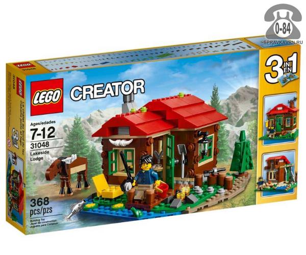 Конструктор Лего (Lego) Creator 31048 Домик возле озера, количество элементов: 368