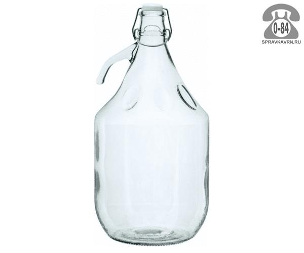 Бутыль стеклянная 5 л