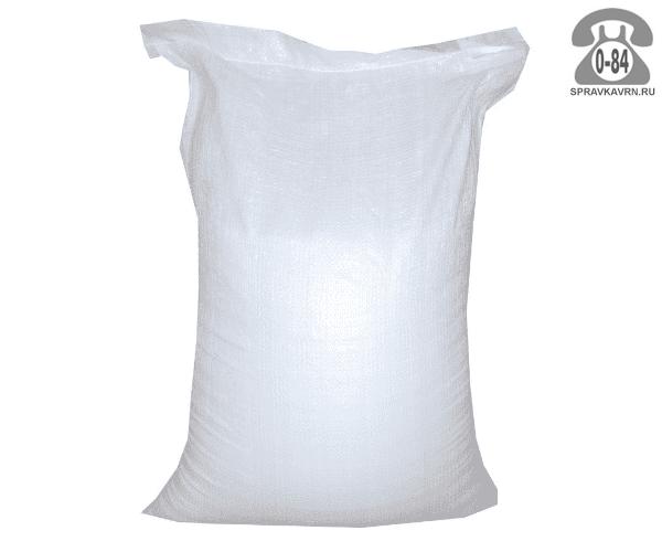 Мешок фасовочный полипропиленовый 50 кг белый