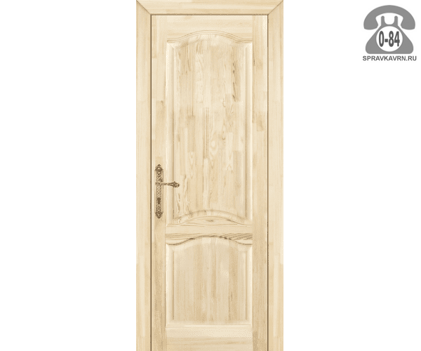 Дверь межкомнатная деревянная распашная сосна