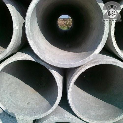 Асбоцементная труба ВТ9 300ммx5м, толщина стенки 19мм
