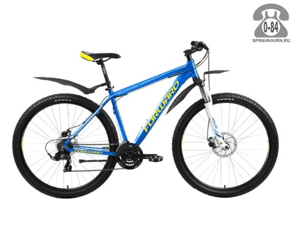 "Велосипед Форвард (Forward) Next 2.0 29 disc (2017) размер рамы 17.5"" синий"