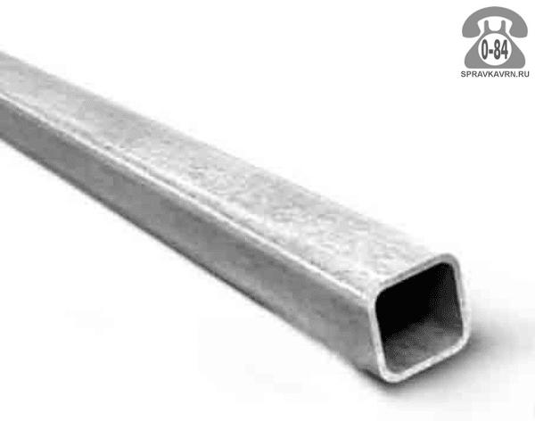 Профильные стальные трубы 100*100 3 мм 6 м