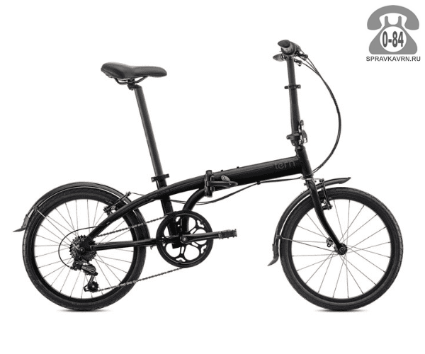 Велосипед Терн (Tern) Link D7i (2017), черный